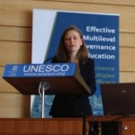 2013_06 Therese presenting at OECD UNESCO Paris c