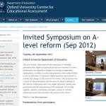 A level reform