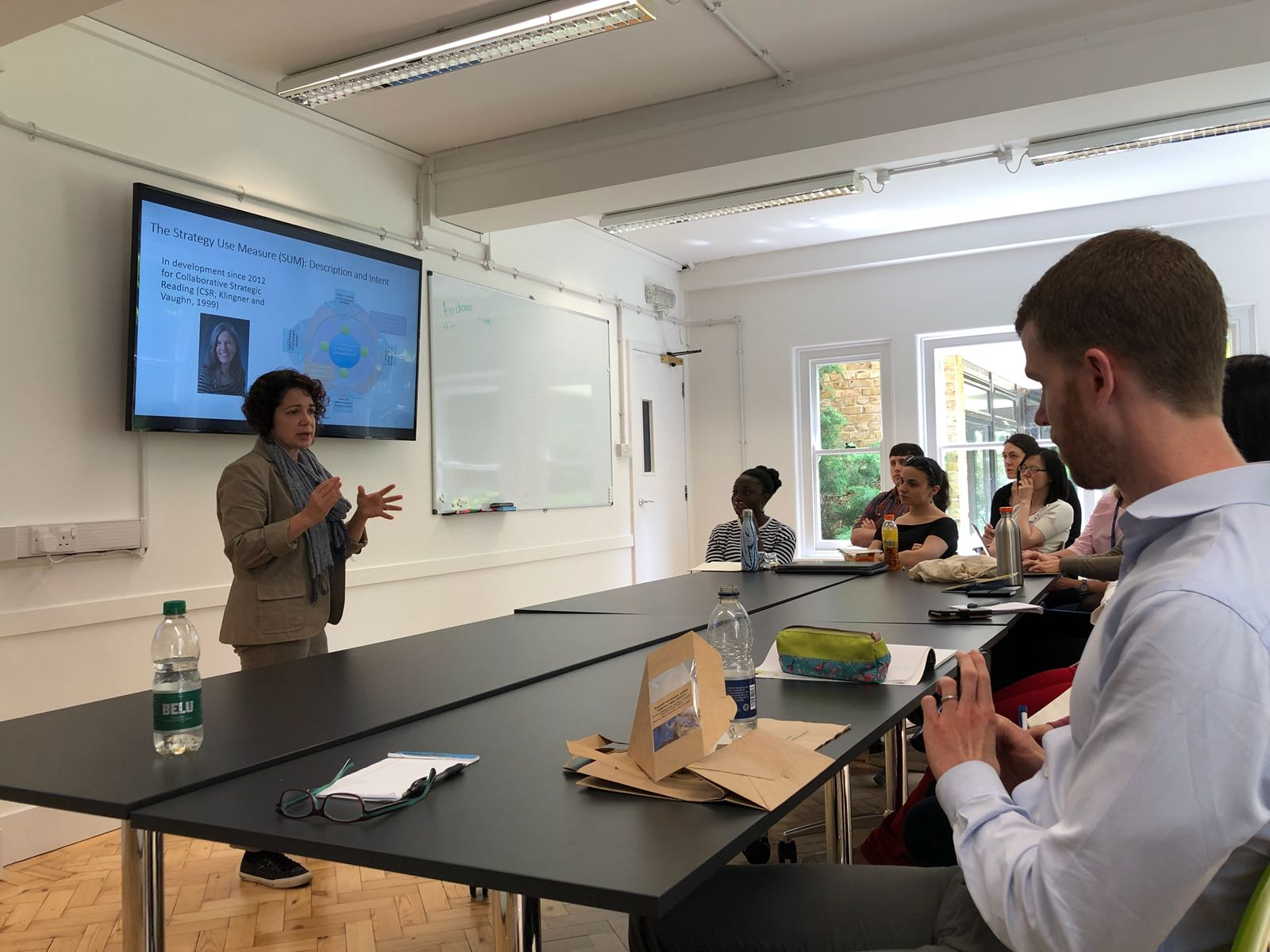 Dr Diana Arya hosts Brown Bag Lunch in Department of